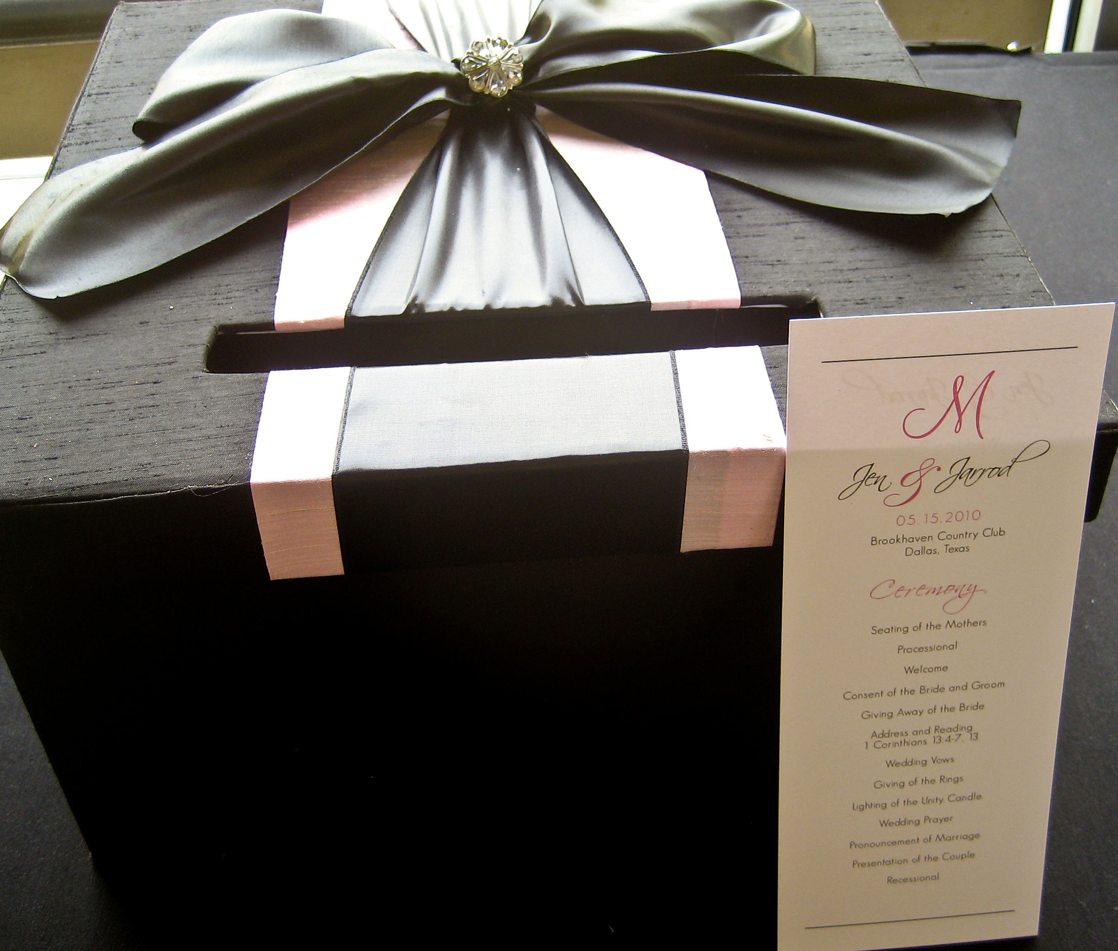 Wedding Gift Box Ideas : ... theme wedding. Here is a sneak peek of the wedding day preparations